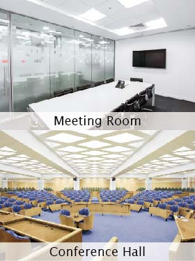 Meeting Rooms & Conference Halls