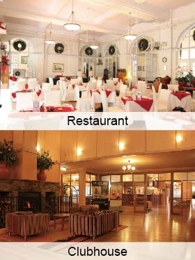 Banquet halls and clubs
