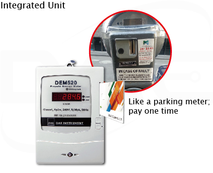 Value transfer prepaid meter