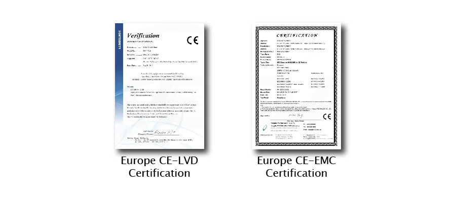 Certifications and Test Reports